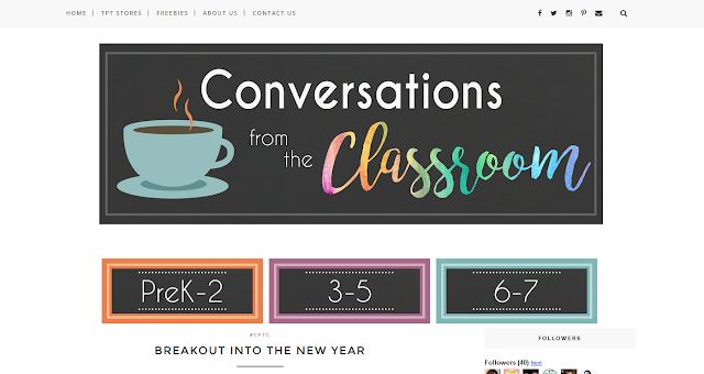http://www.conversationsfromtheclassroom.com/