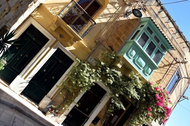 Häuser in Birgu, Malta