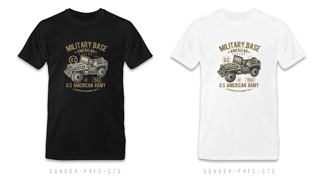 SGH004-P4FC-CTS Graphic T Shirt Design, Custom T Shirt Printing