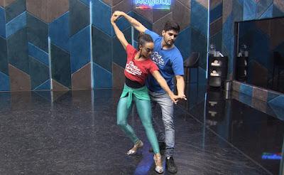 Dandara Mariana ensaia com Daniel Norton para a final do 'Dança dos Famosos' — Foto: Gshow
