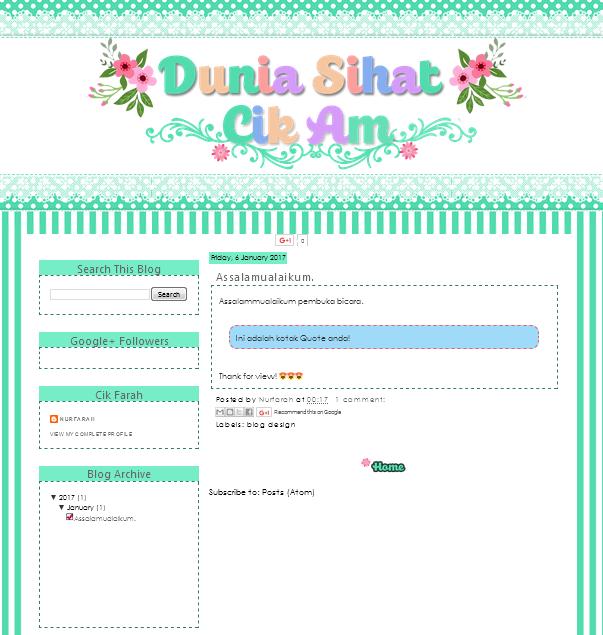 Blog Design 64