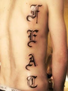 Letter G tattoos...U Letter Design Tattoo