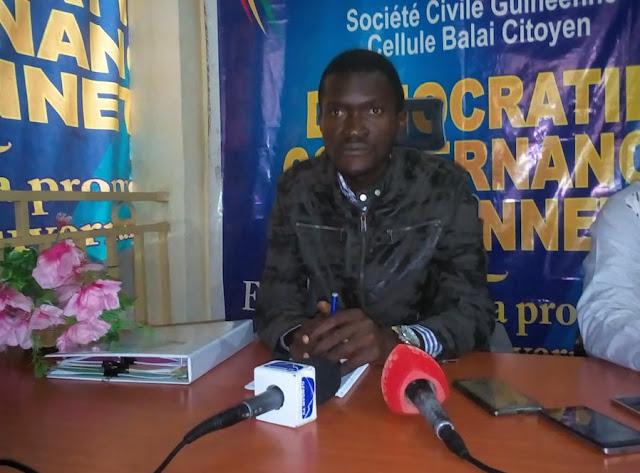 Monsieur Kondouno Sékou membre de la société civile