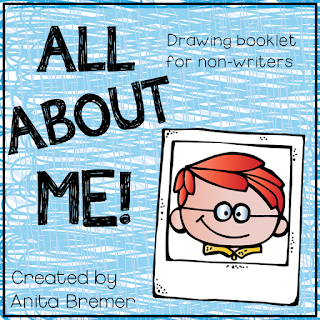 All About Me theme booklets for Kindergarten and First Grade #allaboutme #kindergarten #1stgrade