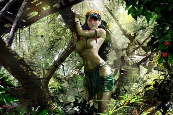 David Benzal artstation ilustrações fantasia filmes realistas games arte