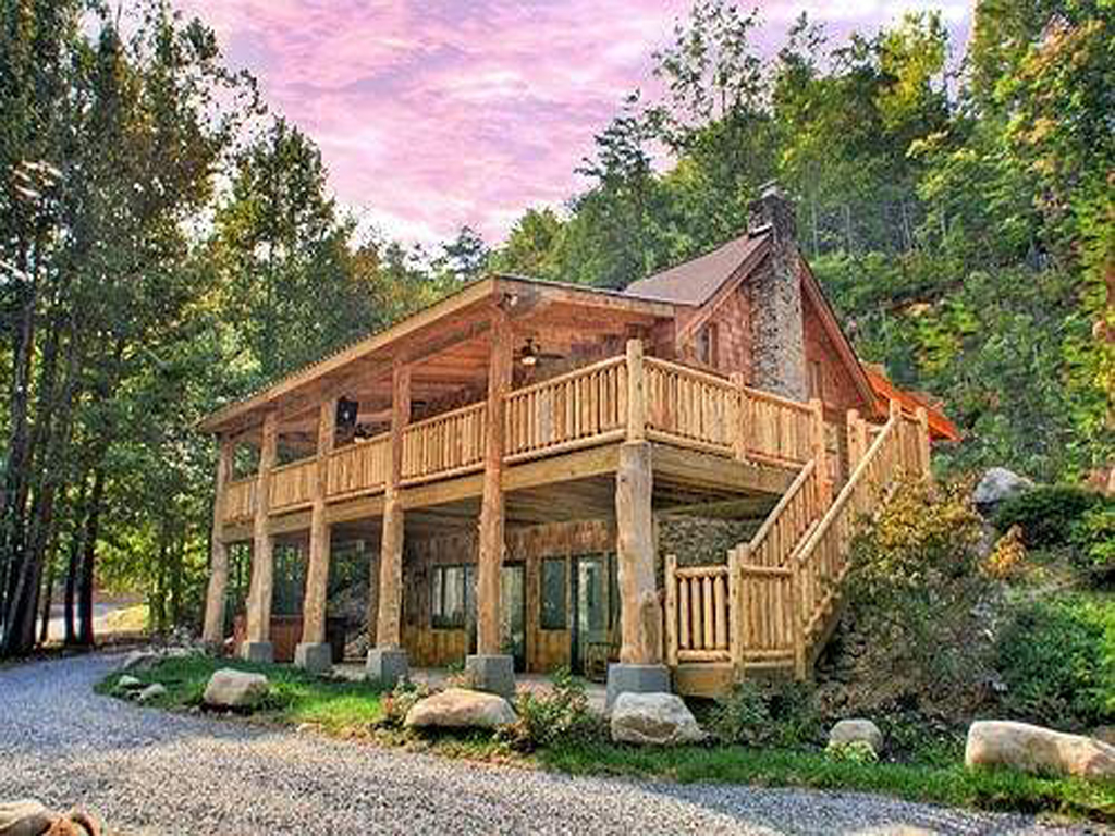 Smoky Mountains Lodging Guide Parkside Cabin Rentals In