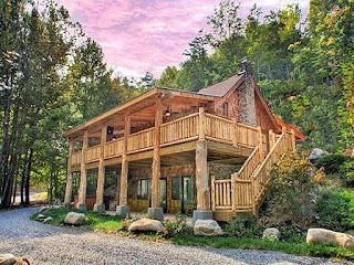 Luxury cabins in the Smokies
