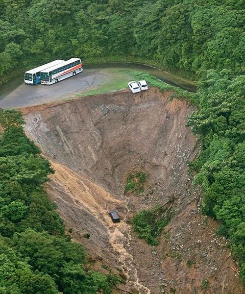 Japan Landslide in Ana...