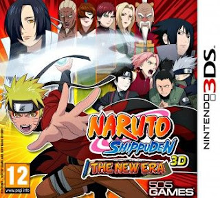 Naruto Shippuden 3D The New Era, 3ds, Español