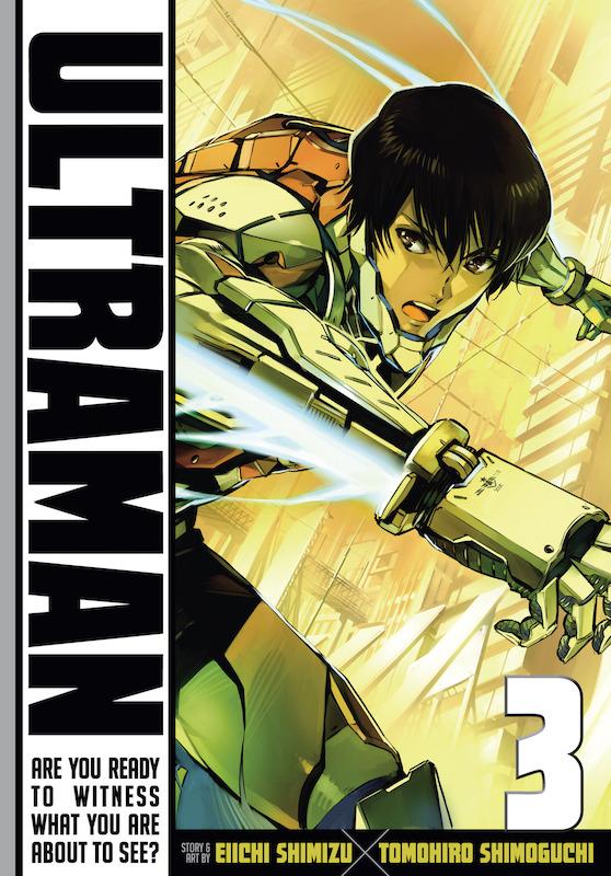 Story: Eiichi Shimizu  Art: Tomohiro Shimoguchi.  Ultraman created by Eiji Tsuburaya & Tsuburaya Productions.