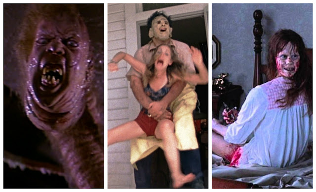 10 Scariest Horror Movies Ever Made, The Thing, The Exorcist, The Texas Chainsaw Massacre