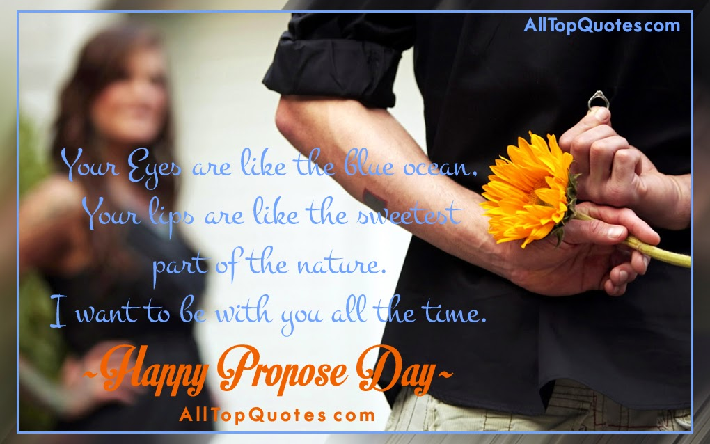 Propose Day Quotes In English