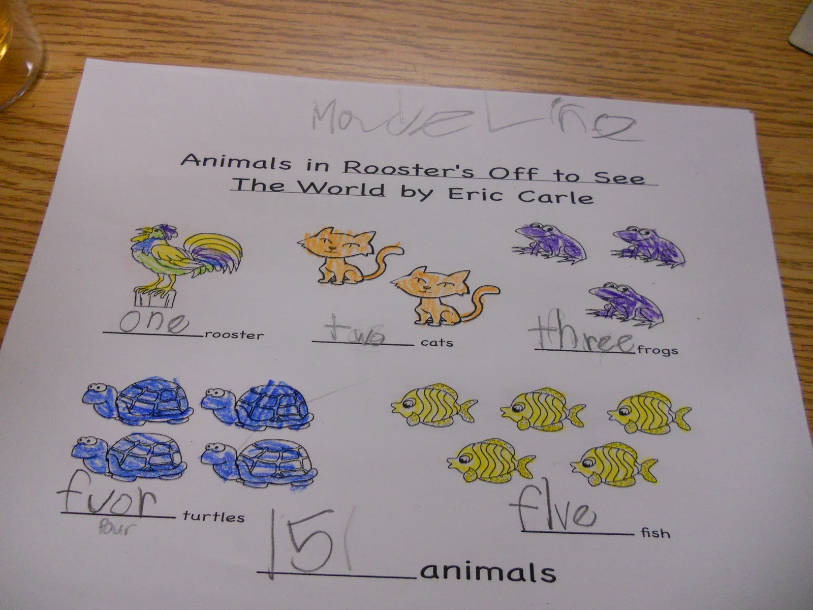 Mrs Kimbrell S Kindergarten Wrapping Up Eric Carle