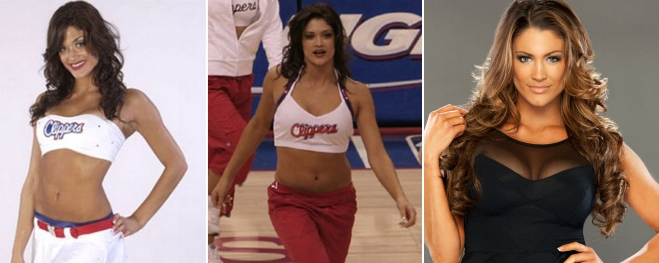 Most beautiful WWE Diva LA Clippers Cheerleader