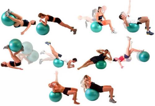 Segue abaixo alguns exercícios usando a bola-suiça  a405263f80d8a