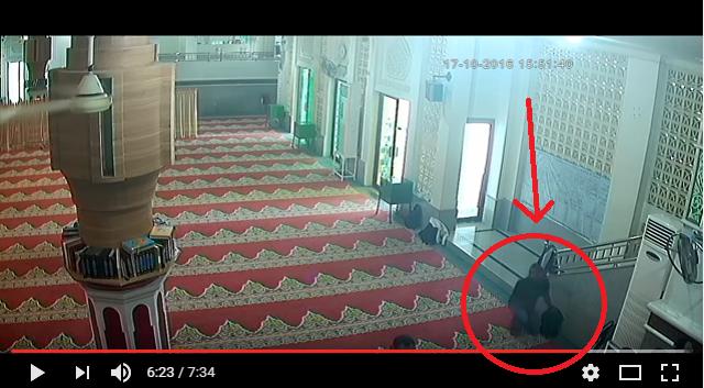 Astaghfirullah, Tempat Ibadah Malah Dijadikan Lahan Pencurian