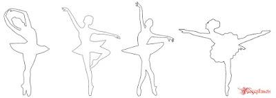 шаблон, скачать, балерины, балеринки, снежинки-балеринки, своими руками, мастер-класс, как сделать, как изготовить, фото, видео, аленин сад