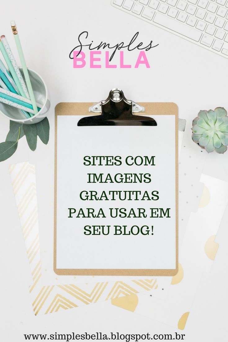 Sites com imagens gratuitas para o seu blog