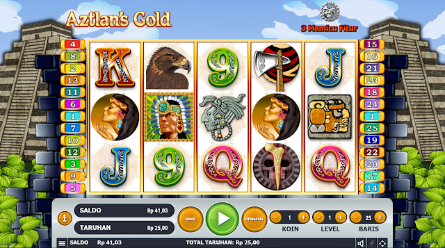 SITUS AGEN AZTLAN'S GOLD THRONE GAMES HABANERO