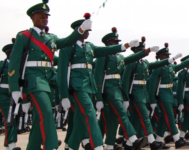 Nigerian Army Recrutiment Form: Nigerian Army 75 RRI recruitment