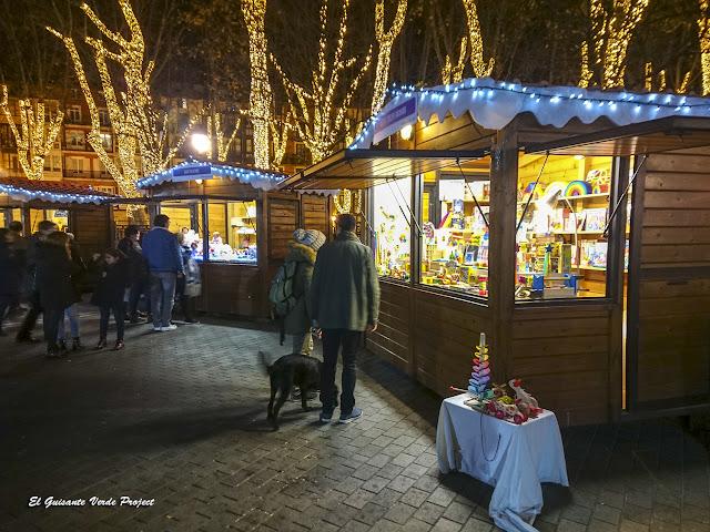 Mercadillo Navidad, Arenal - Bilbao