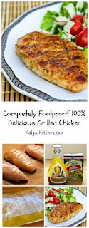 Completely Foolproof 100% Delicious Grilled Chicken [from KalynsKitchen.com]