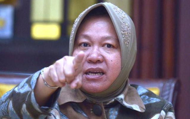 Perlawanan Walikota Surabaya Tri Rismaharini, Bikin Pusing Rezim Jokowi