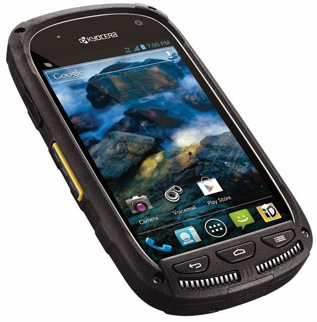 Smartphone Android Kyocera Torque - 640x649