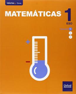 Libro Matemáticas 1º ESO Oxford Proyecto Inicia Dual