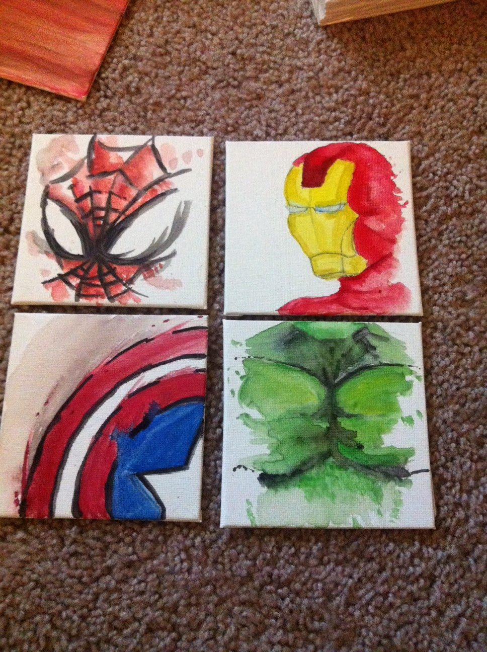 Hey I Found This Really Awesome Etsy Listing At 214702268 Avenger Panel Wall Art With Thor Hulk