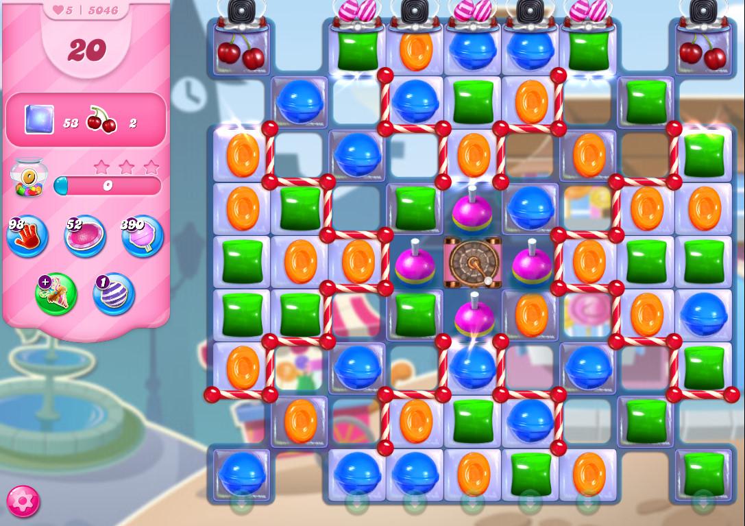 Candy Crush Saga level 5046