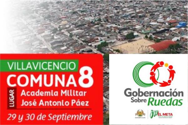 'Gobernación Sobre Ruedas' en comuna 8 de Villavicencio