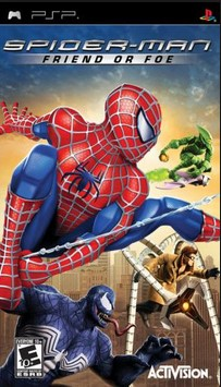 Download Spiderman Friend Or Foe CSO ISO PPSSPP