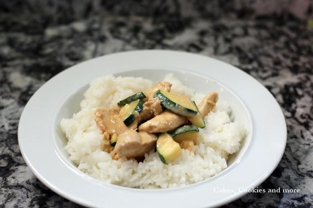 Hühnchen mit Zucchini - Rezept
