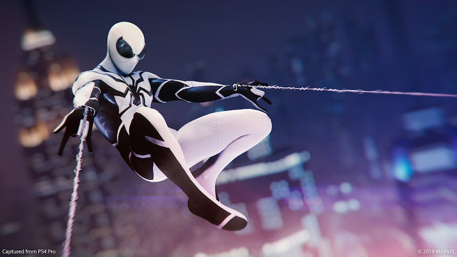 marvels spider-man ps4 future foundation suit