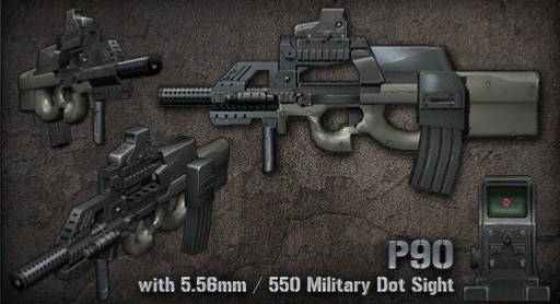 Image result for p90 point blank