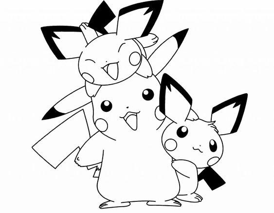 Tranh tô màu Pokemon 87