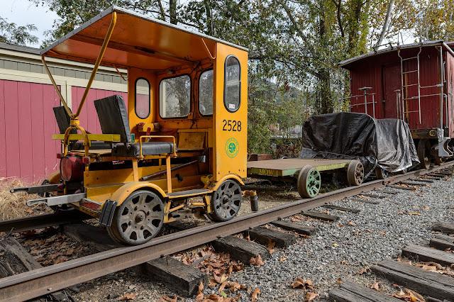Southern Railway 2528 Fairmont M19 Speeder