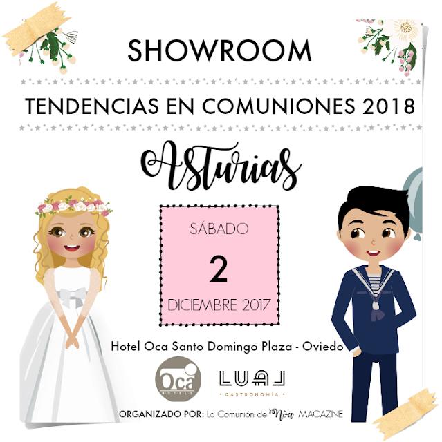 Showroom Tendencias en Comuniones 2018 Asturias - La Comunion de Noa