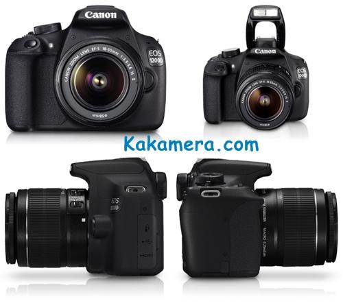 Harga Kamera Canon EOS 1200D