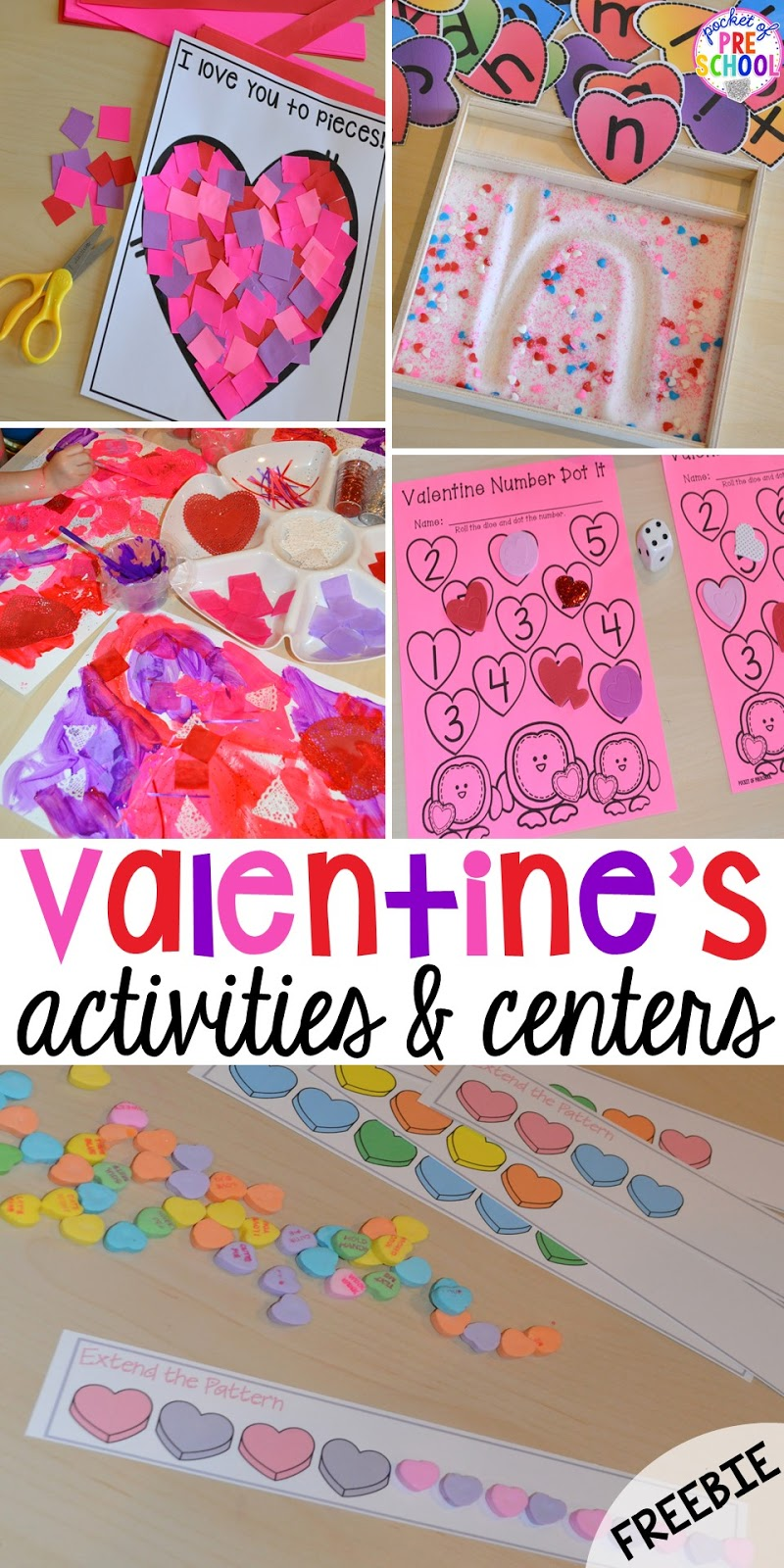 Classroom Quilt Themes ~ Valentine s day themed centers and activities pocket of