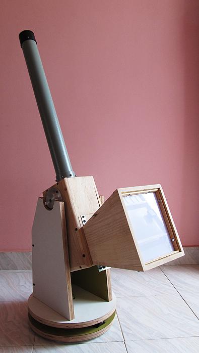 Diy Blog Rear Projection Solar Telescope