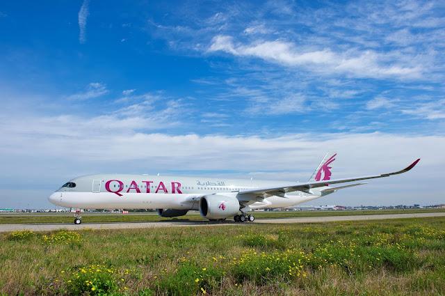 Qatar Airways Airbus A350-900 XWB First Livery