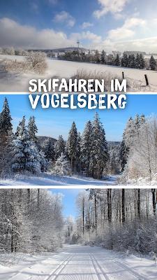 Wintersport: Loipe Hoherodskopf Taufstein Hessen Vogelsberg – Langlauf und Skifahren mit Best Mountain Artists – Schnee und Loipentest Schotten