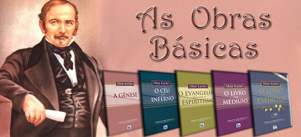Obras Básicas do Espiritismo (Basic Books of Spiritism)