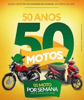 Promoção Comércio Toledo PR 2017 50 Anos 50 Motos