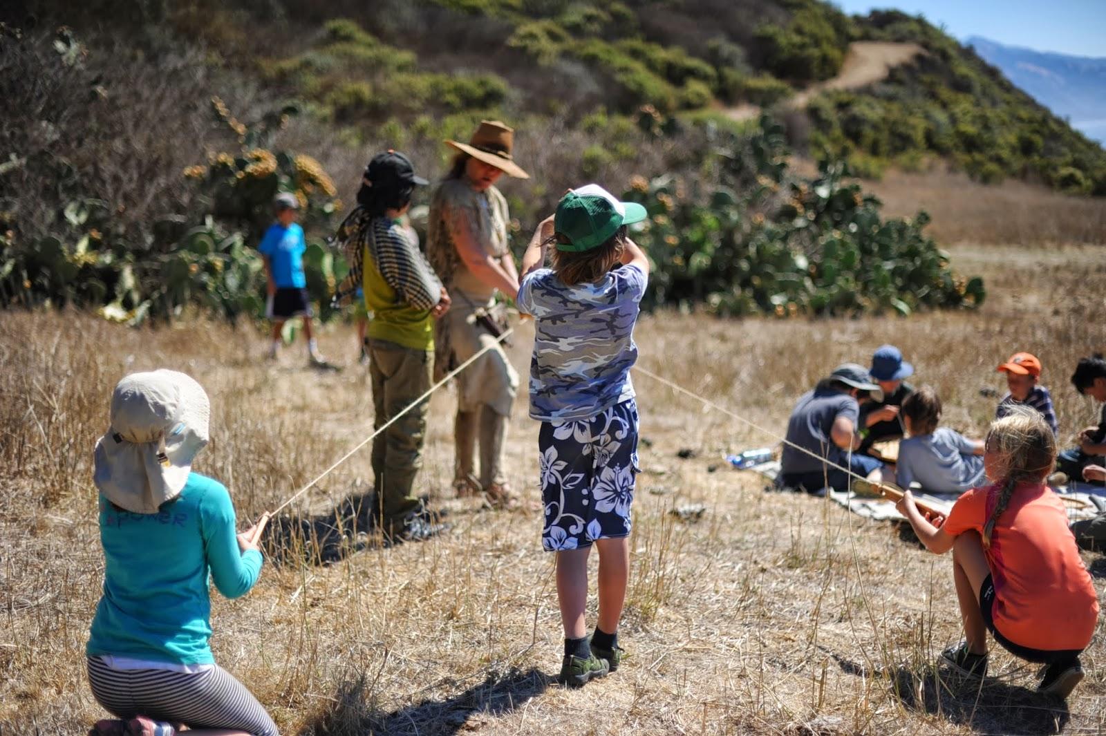 Outdoor Classroom Inititative Grade 4 Visits Hill Of The