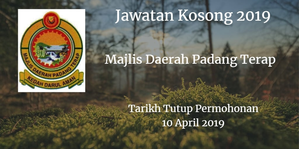 Jawatan Kosong MDPT 10 April 2019