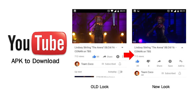 YouTube v11.33.55 Update, With new Animation for Description Section: Download APK