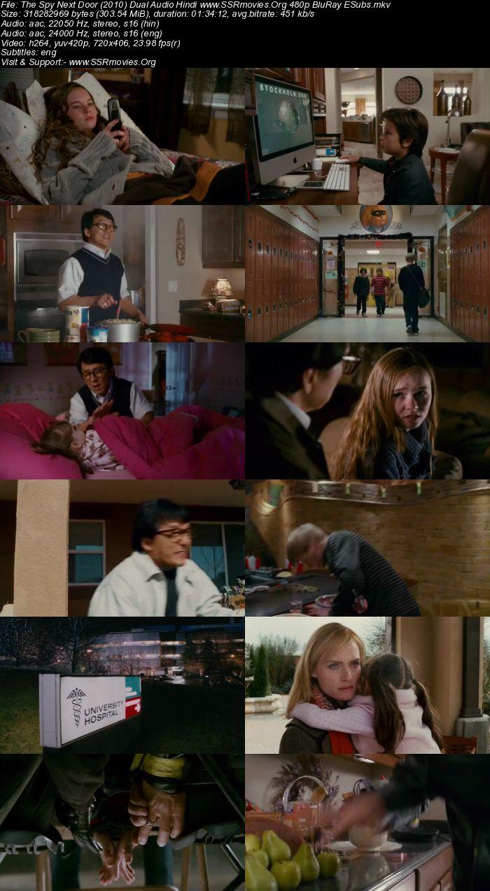 The Spy Next Door (2010) Dual Audio Hindi 480p BluRay 300MB